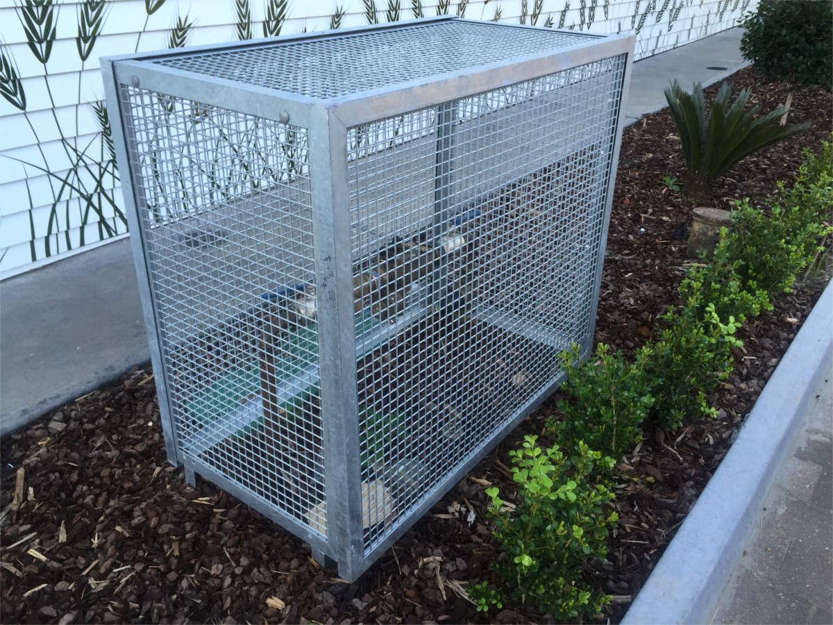 Ac Condenser Cages Saxon Engineering