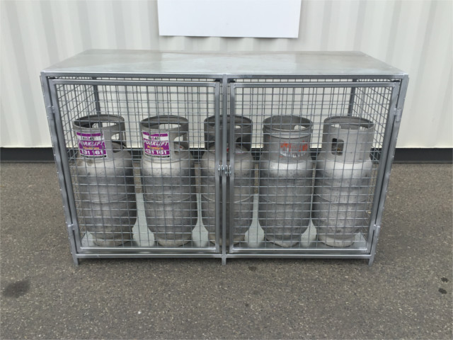 Gas Cylinder Cages Saxon Engineering