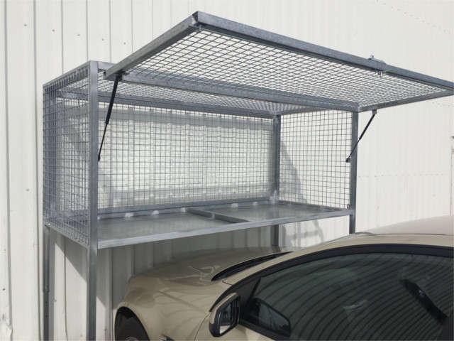 Over Bonnet Storage Cages