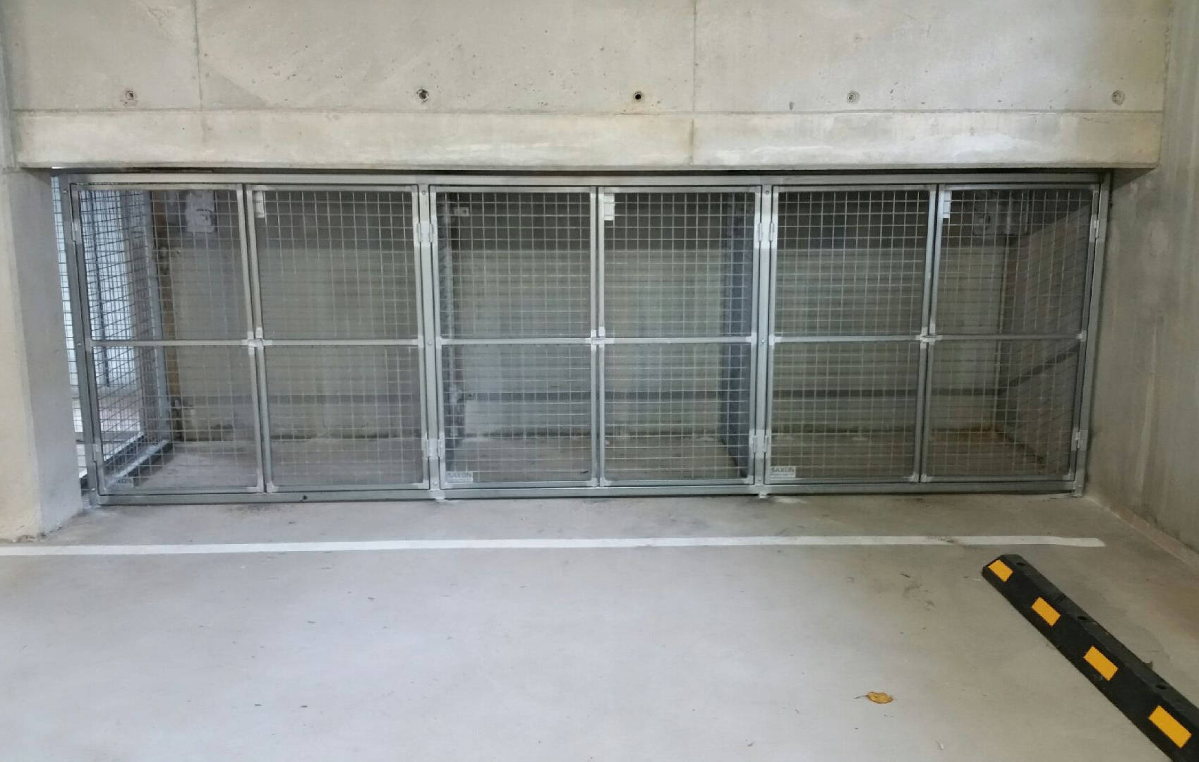 Car Park Storage Cages Saxon Engineering