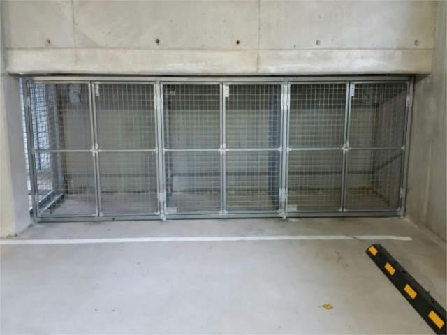 Car Park Storage Cages