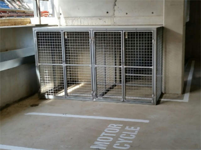 Car Park Storage Cages
